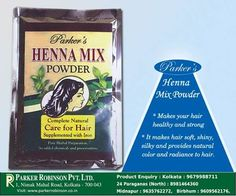#Parker's #Henna #Mix #Powder