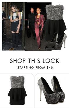 """Out with Perrie and Leigh-Anne"" by little-mix-fashionlover ❤ liked on Polyvore featuring Philipp Plein and Givenchy"