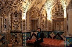 Sim Inside Hammam-e Sultan Mir Ahmad by TravelPod Member Jimsim