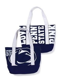 """Penn State PINK Weekender Tote      Please complete the missing information highlighted below and click """"Add to Bag"""".        Victoria's Secret Pink®    12 of 16      Penn State Weekender"""