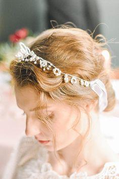 Bridal Pearl Tiara Pearl Tiara Wedding Tiara Bridal Tiara Bridal Tiara, Pearls, Trending Outfits, Unique Jewelry, Wedding, Etsy, Vintage, Collection, Headpiece Wedding Hair