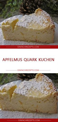 Apfelmus Quark Kuchen Applesauce Quark Cake Related posts: Applesauce Quark Cake Fast Low Carb Coconut Quark Cake – without baking – recipe without sugar Quark sheet cake with mandarins Wintery cake with applesauce and oatmeal Easy Vanilla Cake Recipe, Easy Cake Recipes, Healthy Dessert Recipes, Cookie Recipes, Recipes Dinner, Pasta Recipes, Healthy Snacks, Bolos Low Carb, Cake Mix Cookies