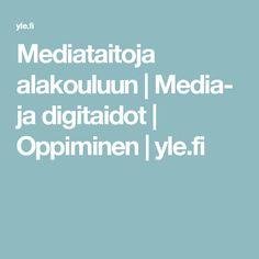 Mediataitoja alakouluun   Media- ja digitaidot   Oppiminen   yle.fi Teacher, Logos, Professor, Teachers, Logo