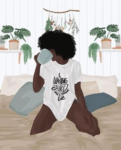 Black Art Pictures, Born This Way, Teas, Smoothies, Encouragement, Life Quotes, Coffee, Illustration, Water
