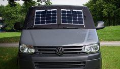 Solar-Thermomatte mit Magnet-Befestigung(Camping Hacks)