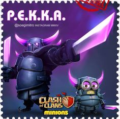 Clash of Clans P.E.K.K.A Minions