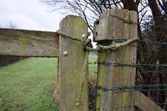 Knoop om het hek