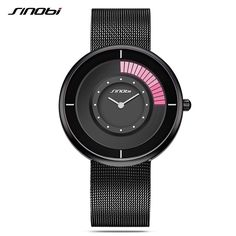 18.45$  Buy now - SINOBI Slim Men's Watch Top Brand Net with Watch Men Rotate Creative Quartz Watch Male Clock Relogio Masculino  #buymethat