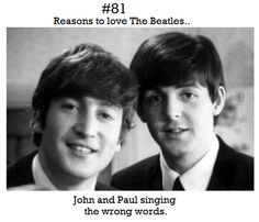 Reasons to love The Beatles. — Submitted by yousayyouwantarevoloution Foto Beatles, Beatles Meme, Les Beatles, Papa Roach, Breaking Benjamin, Kari Jobe, Garth Brooks, Florence Welch, Sara Bareilles