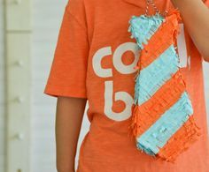 Make a tie Piñata for Dad! Diy Piñata, Easy Diy, Make A Tie, Mike And Ike, Balloon Pinata, Father's Day Diy, Diy Arts And Crafts, Creative Crafts, Mother And Father