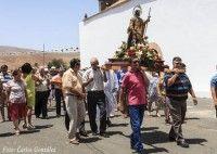 Valles de Ortega recupera la Fiesta del Agua en honor a San Roque