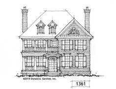 Front Elevation - Conceptual Design #1361