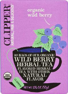 Clipper Tea Organic Wild Berry