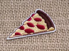 Pizza Patch Iron On Patches for Jackets Kawaii Cute Food Punk Hipster Band  Patches for Jackets Hats Embroidered Applique Cute Patches 65ce64ac4967