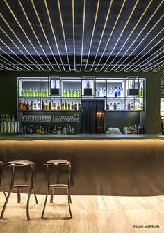Refurbishment of a Club located in Old Town of City of Olot (Girona) Reforma de un bar de copas situado en la parte vieja de la ciudad de Olot (Girona) Portal, Club, Old Town, Refurbishment, Old Things, Bar, Architects, Furniture, Home Decor
