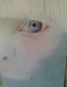 Work in progress.. Albino child. 2014. Evangelina Gómez.
