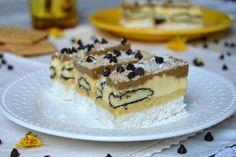 Prajitura Mariam | Miremirc Cake Factory, Cafe Food, Coco, Tiramisu, Biscuit, Cheesecake, Sweets, Ethnic Recipes, Desserts