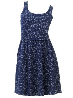 Classic: Polka Dotted Cotton Dress  - Seventeen.com