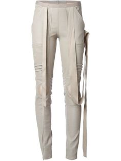 Shop Rick Owens moto leggings in Eraldo from the world's best independent boutiques at farfetch.com. Over 1000 designers from 60 boutiques in one website.