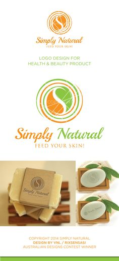 Simply Natural - Health & Beauty Products Logo Design Winner