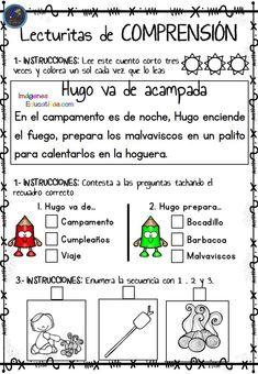Lecturitas de comprensión 2 para Infantil y primer ciclo de Primaria - Imagenes Educativas