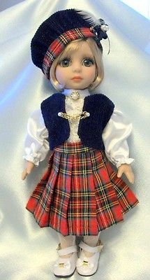 """Patsy Tonner Doll """" Tartan Miss"""" Outfit OOAK 
