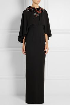 Biyan | Istia embellished crepe gown | NET-A-PORTER.COM