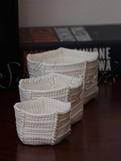 Crochet 3 X 5 Boxes by Maria Zukowska   >   free Ravelry Download