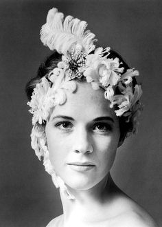 Julie Andrews photographed by Cecil Beaton, 1960's