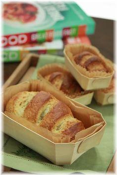 オリーブオイルとゴマのサンドイッチパン