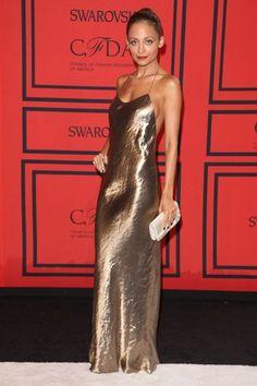 Nicole Richie's radiant dress