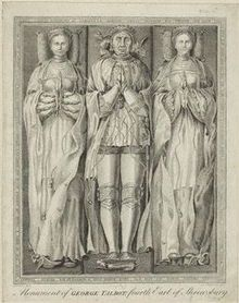 Ralph de Neville, 1st Earl of Westmoreland and his wives Joan Beaufort and Margaret Stafford. Joan Beaufort and Ralph de Neville