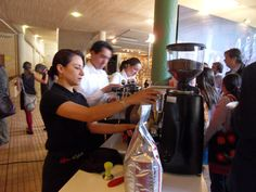 Barra de Café en eventos de la Fundación Ford en diciembre!