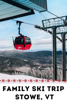 Stowe is the East Coast gem in the Vail Resorts portfolio. It's a magnet for wealthy ski families from Boston and even as far south as New York City and Philly. Unlike many of the ski resorts in the East, this is a real destination for a multi-day ski holiday. If you are trip planning your ski vacation to Stowe, Vermont, use our helpful ski mom tips. #stowe #vermont Vail Resorts, Stowe Vermont, Ski Vacation, Ski Holidays, Top Destinations, Best Places To Travel, Winter Fun, Travel With Kids, East Coast