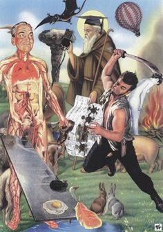Saint Harebrain and the Bunny Butcher © Winston Smith, 2002