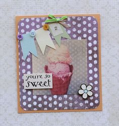 Night Owl Designs: You're So Sweet