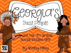 Georgia's First People (Creek and Cherokee Indians)