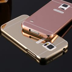 KISSCASE Bling Mirror Aluminum Case for Galaxy S5 Slim Smooth Hard Cover for Samsung Galaxy S5 i9600  Phone Bags Metal Coque #>=#>=#>=#>=#> Click on the pin to check out discount price, color, size, shipping, etc. Save and like it!
