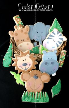 CookieCrazie: Jungle Buddies Cookie Collection