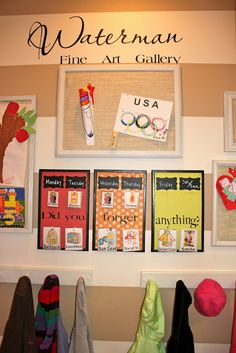 Achieving Creative Order: Displaying Kids Art and Promoting Independence