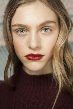 3.1 Phillip Lim hair and make-up - autumn/winter 2015 #nyfw