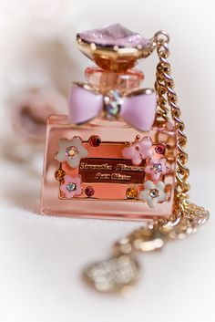 Perfume Bottle bag charm from Samantha Thavasa!! by Ivory Fox, via Flickr