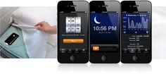 L'app #SleepCycle sur l' #iPhone installé sous l'oreiller utilise l'accéléromètre pour capter vos mouvements nocturnes et identifie vos rythmes de #sommeil et le meilleur moment pour se réveiller en phase de sommeil léger. Vous pouvez consulter un historique des graphiques avec les courbes de vos rythmes de sommeil. Les données peuvent être exportées vers l'application Santé (native) d'#iOS et #Runkeeper. #QuantifieldSelf #apps