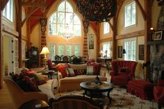 English Country Cottage Living Rooms | All Rooms / Living Photos / Living Room