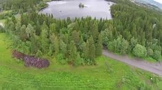 Drone practice with Rebecca: Lian, Trondheim, Norway