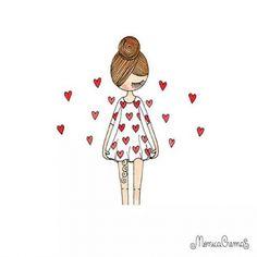 ♥♥♥ #monicacrema #ilustração
