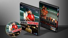 Vidas Partidas - Capa | VITRINE - Galeria De Capas - Designer Covers Custom | Capas & Labels Customizados