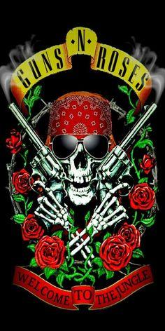 Rock Band Posters, Rock Band Logos, Rock Bands, Guns N Roses, U2 Poster, Image Moto, Rock Y Metal, Cool Album Covers, Classic Rock And Roll