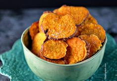 Sweet Potato Chips | ©addapinch.com