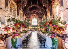 Wedded Wonderland - Jason James Design was commissioned to create the design and style direction for the wedding of Sandy and Rod at the iconic Sydney University's Great Hall.